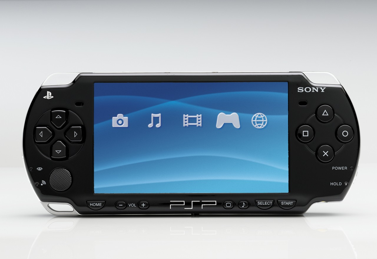 Sony PSP – Upload games, music, movie, photo, save games ...