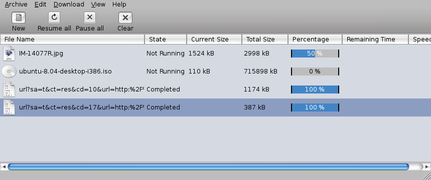 Download Manager in Ubuntu – gwget   Taufan Lubis - Ubuntu Linux