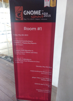 gnome asia 2015-event