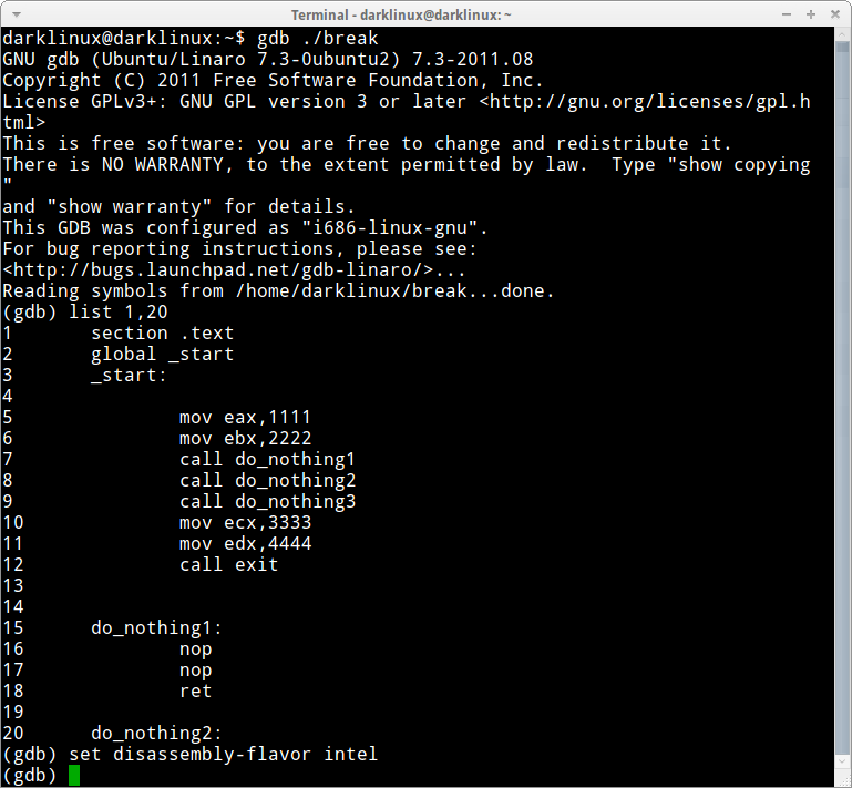 debugger-a1   Taufan Lubis - Ubuntu Linux
